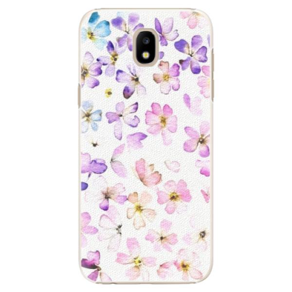 Plastové puzdro iSaprio - Wildflowers - Samsung Galaxy J5 2017