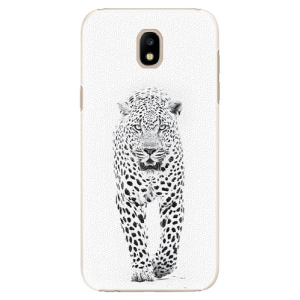 Plastové puzdro iSaprio - White Jaguar - Samsung Galaxy J5 2017