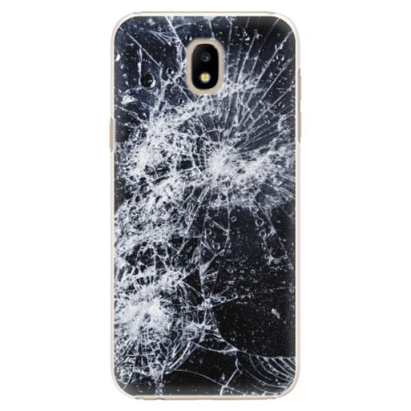 Plastové puzdro iSaprio - Cracked - Samsung Galaxy J5 2017