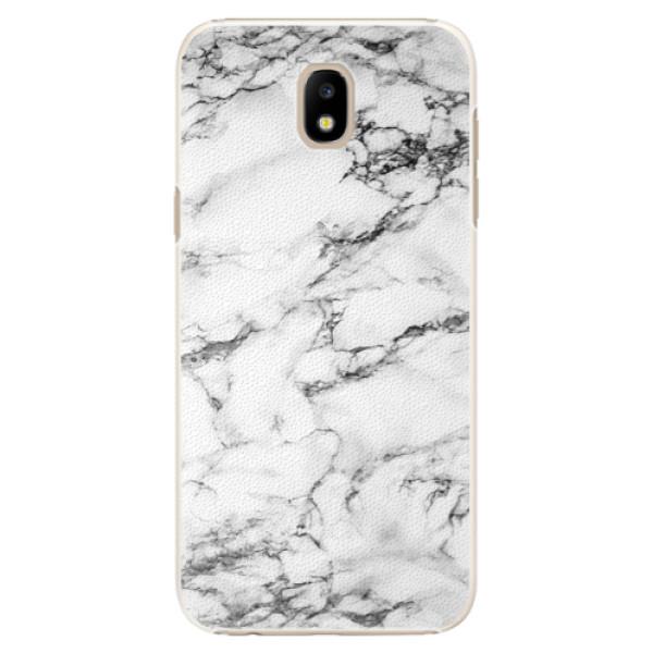 Plastové puzdro iSaprio - White Marble 01 - Samsung Galaxy J5 2017