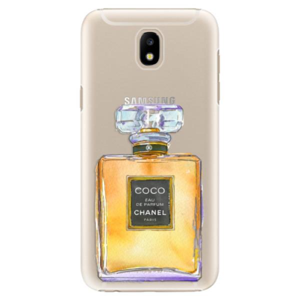 Plastové puzdro iSaprio - Chanel Gold - Samsung Galaxy J5 2017