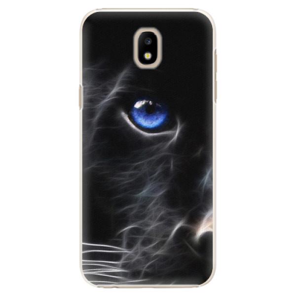 Plastové puzdro iSaprio - Black Puma - Samsung Galaxy J5 2017
