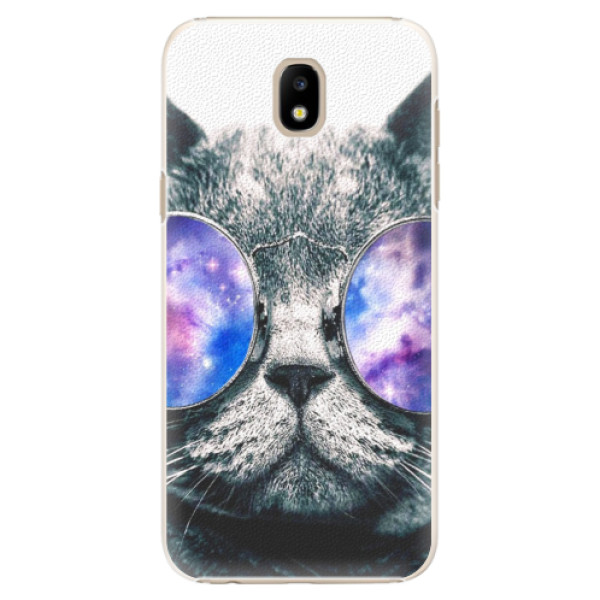 Plastové puzdro iSaprio - Galaxy Cat - Samsung Galaxy J5 2017