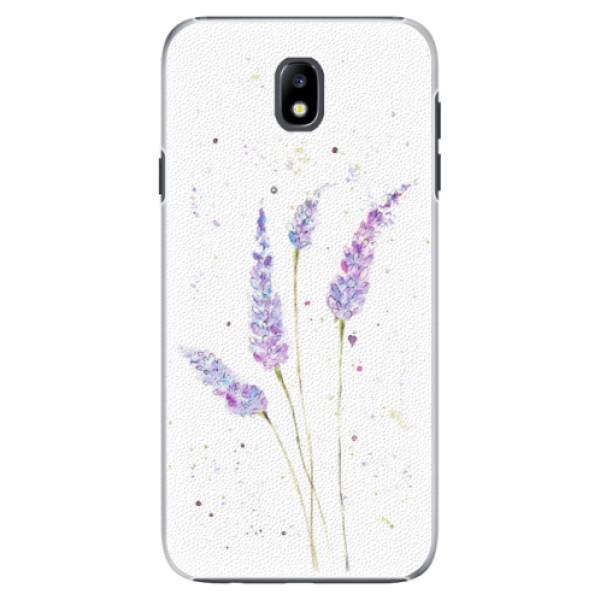 Plastové puzdro iSaprio - Lavender - Samsung Galaxy J7 2017