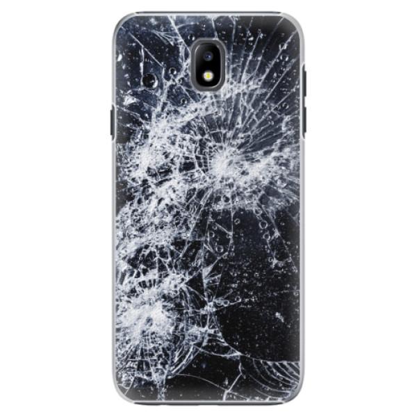 Plastové puzdro iSaprio - Cracked - Samsung Galaxy J7 2017
