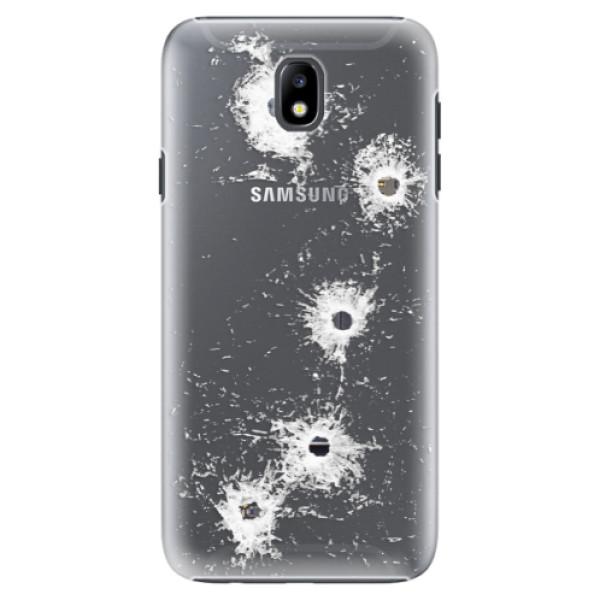 Plastové puzdro iSaprio - Gunshots - Samsung Galaxy J7 2017