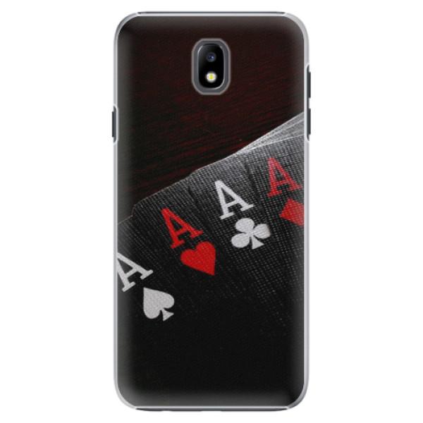 Plastové puzdro iSaprio - Poker - Samsung Galaxy J7 2017