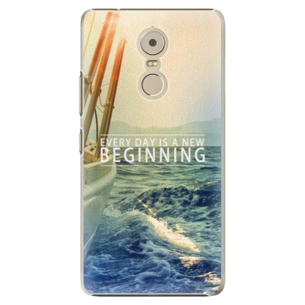 Plastové puzdro iSaprio - Beginning - Lenovo K6 Note