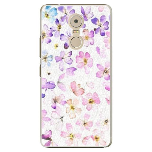 Plastové puzdro iSaprio - Wildflowers - Lenovo K6 Note