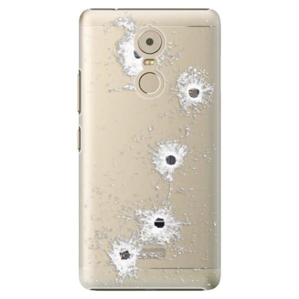 Plastové puzdro iSaprio - Gunshots - Lenovo K6 Note