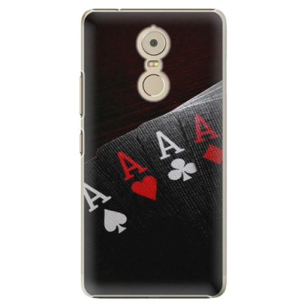 Plastové puzdro iSaprio - Poker - Lenovo K6 Note