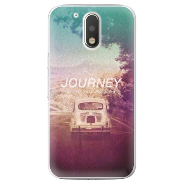 Plastové puzdro iSaprio - Journey - Lenovo Moto G4 / G4 Plus