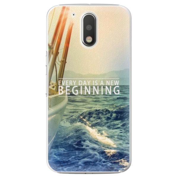 Plastové puzdro iSaprio - Beginning - Lenovo Moto G4 / G4 Plus