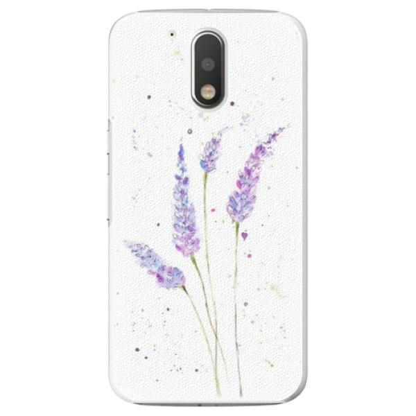Plastové puzdro iSaprio - Lavender - Lenovo Moto G4 / G4 Plus