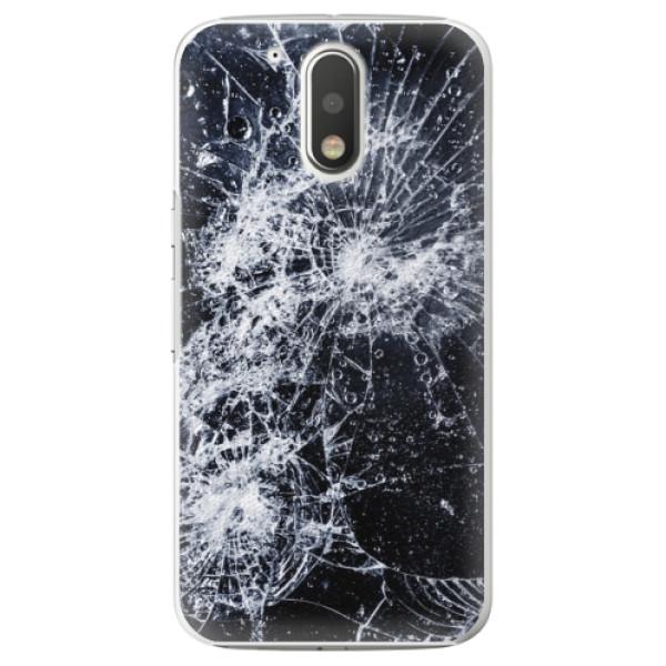 Plastové puzdro iSaprio - Cracked - Lenovo Moto G4 / G4 Plus