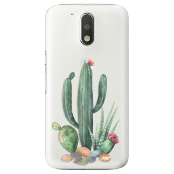 Plastové puzdro iSaprio - Cacti 02 - Lenovo Moto G4 / G4 Plus
