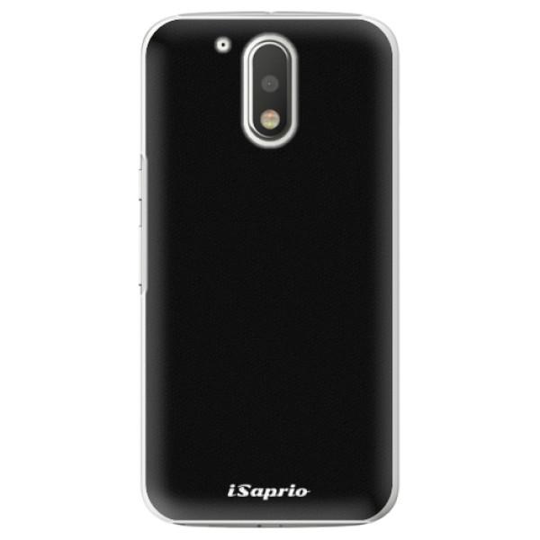 Plastové puzdro iSaprio - 4Pure - černý - Lenovo Moto G4 / G4 Plus