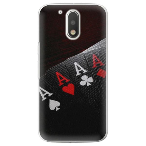 Plastové puzdro iSaprio - Poker - Lenovo Moto G4 / G4 Plus