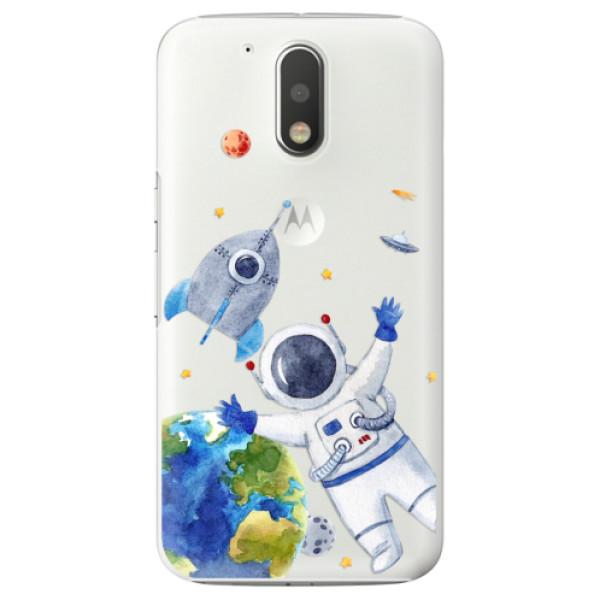 Plastové puzdro iSaprio - Space 05 - Lenovo Moto G4 / G4 Plus