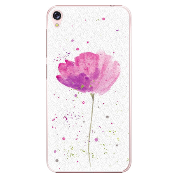 Plastové puzdro iSaprio - Poppies - Asus ZenFone Live ZB501KL