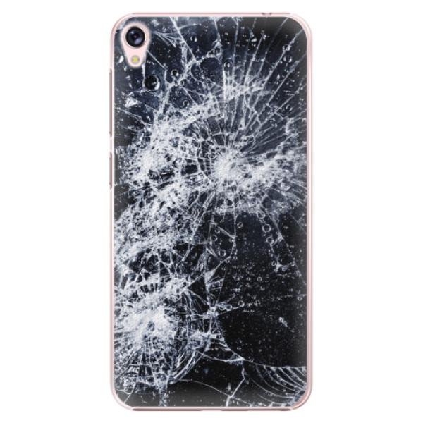 Plastové puzdro iSaprio - Cracked - Asus ZenFone Live ZB501KL