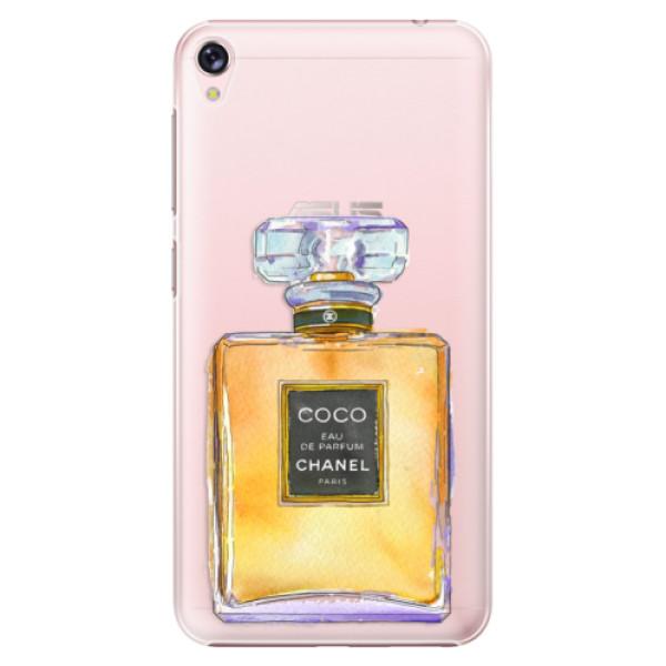Plastové puzdro iSaprio - Chanel Gold - Asus ZenFone Live ZB501KL