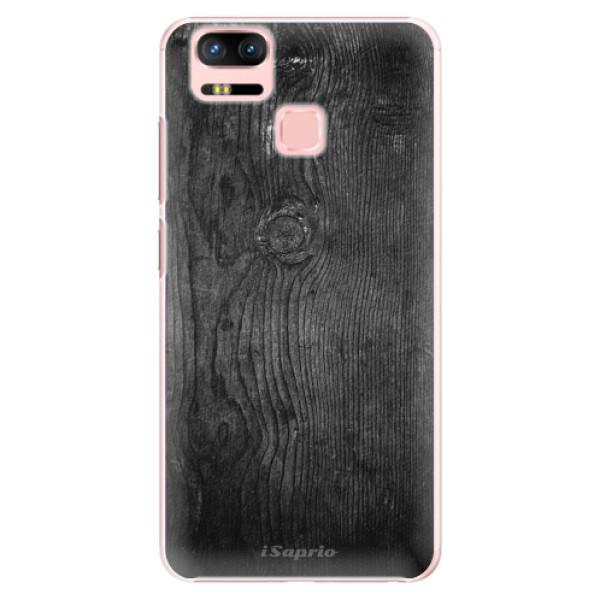 Plastové puzdro iSaprio - Black Wood 13 - Asus Zenfone 3 Zoom ZE553KL