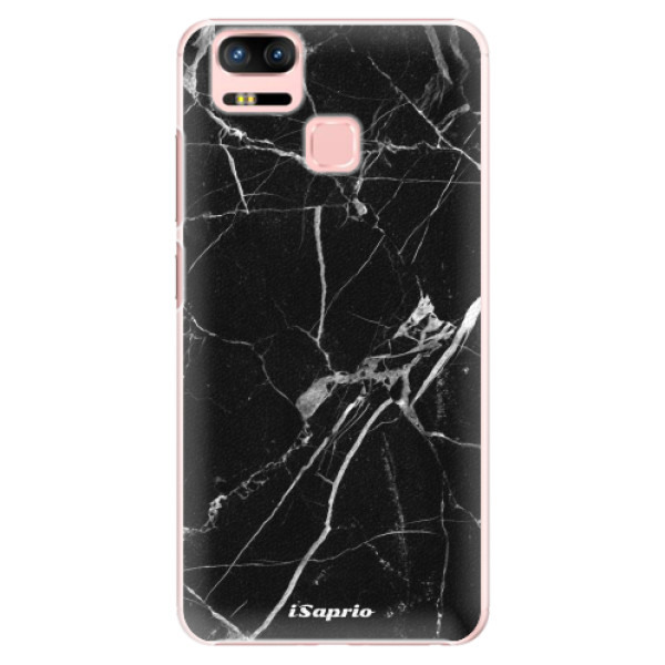Plastové puzdro iSaprio - Black Marble 18 - Asus Zenfone 3 Zoom ZE553KL