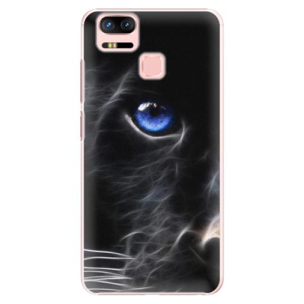 Plastové puzdro iSaprio - Black Puma - Asus Zenfone 3 Zoom ZE553KL