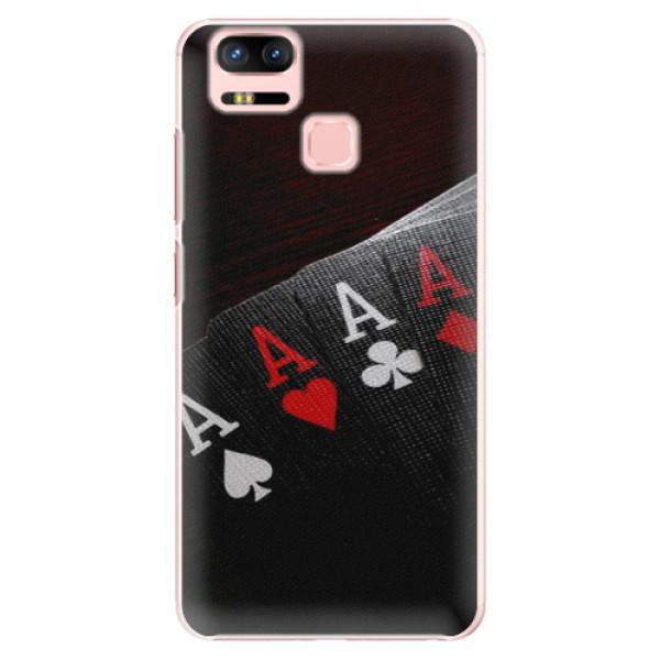 Plastové puzdro iSaprio - Poker - Asus Zenfone 3 Zoom ZE553KL