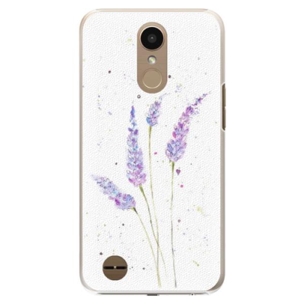 Plastové puzdro iSaprio - Lavender - LG K10 2017