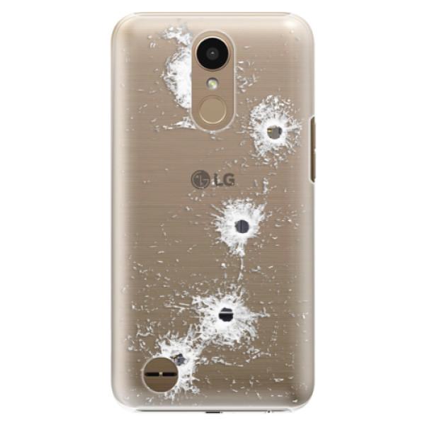 Plastové puzdro iSaprio - Gunshots - LG K10 2017
