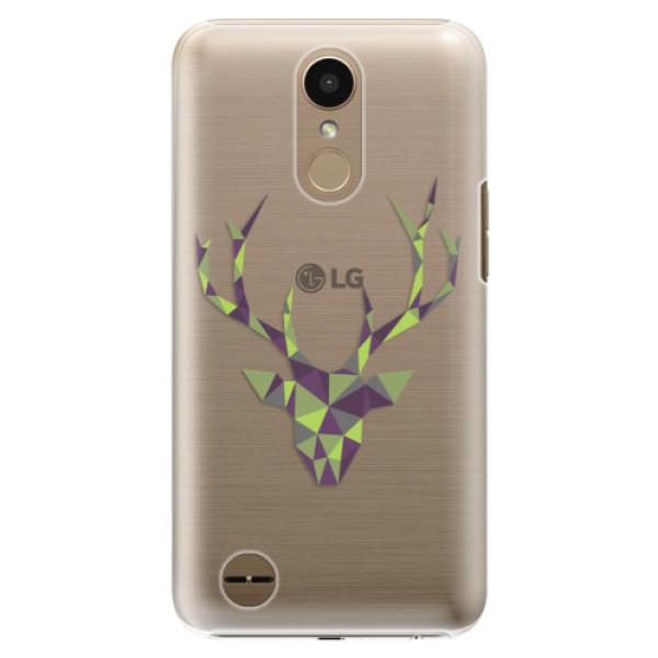 Plastové puzdro iSaprio - Deer Green - LG K10 2017