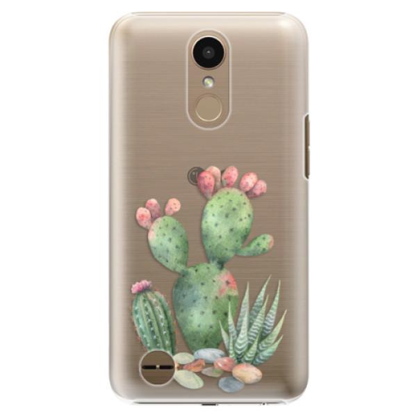 Plastové puzdro iSaprio - Cacti 01 - LG K10 2017