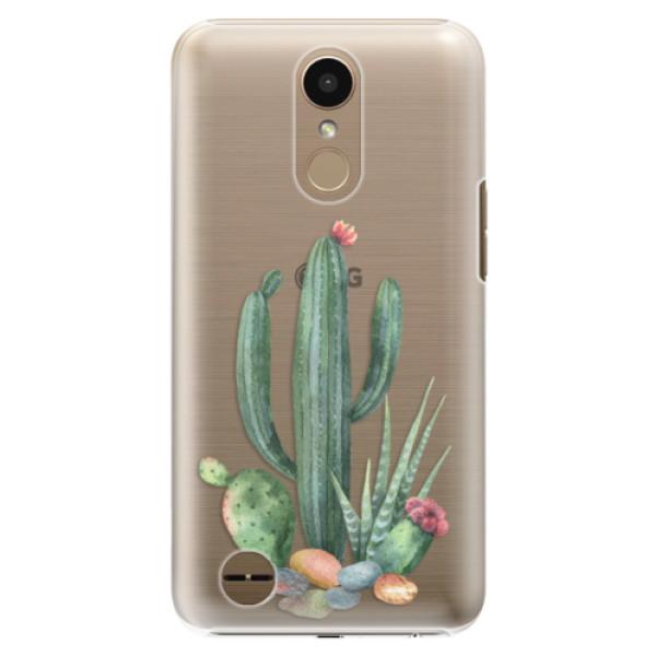 Plastové puzdro iSaprio - Cacti 02 - LG K10 2017