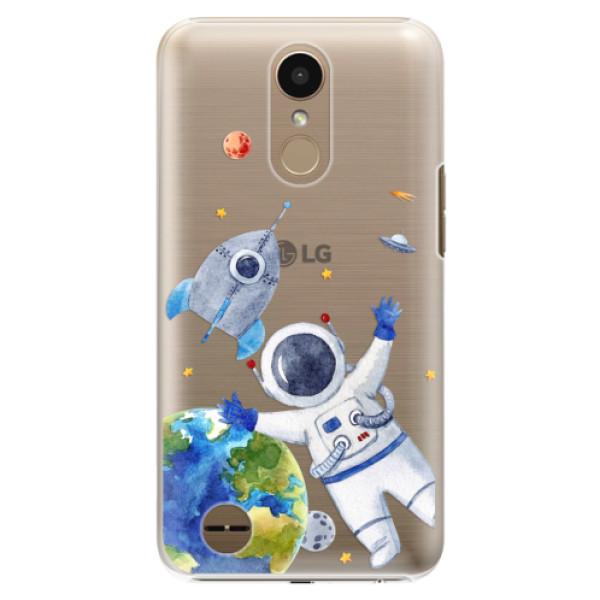 Plastové puzdro iSaprio - Space 05 - LG K10 2017