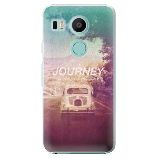 Plastové puzdro iSaprio - Journey - LG Nexus 5X