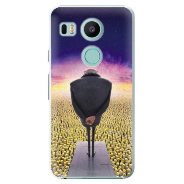 Plastové puzdro iSaprio - Gru - LG Nexus 5X
