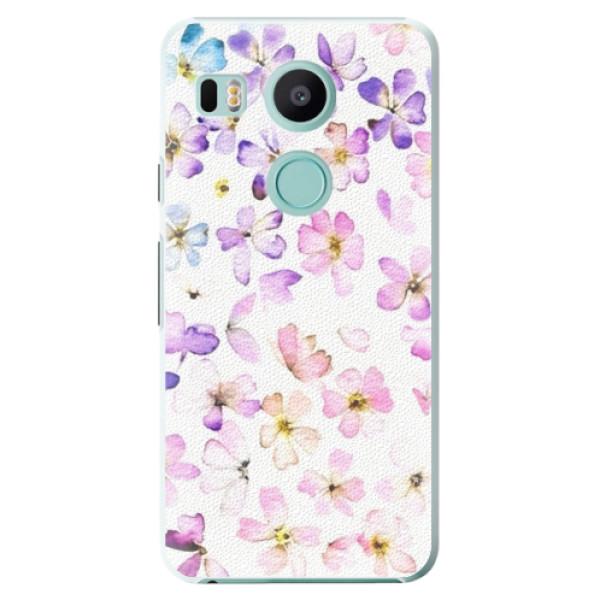 Plastové puzdro iSaprio - Wildflowers - LG Nexus 5X