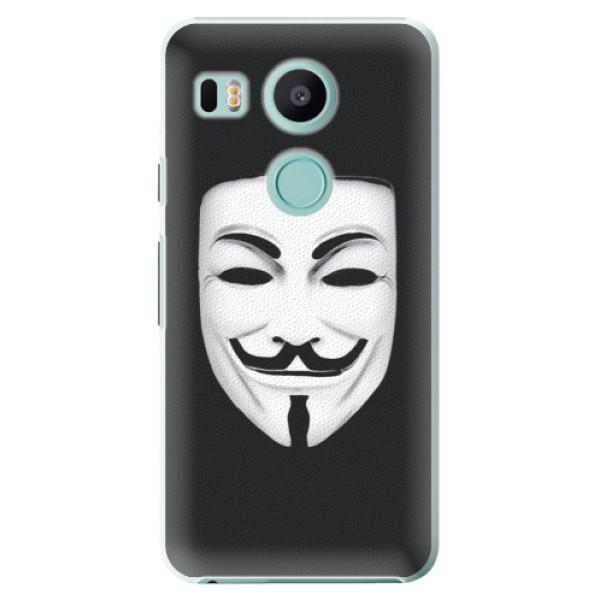 Plastové puzdro iSaprio - Vendeta - LG Nexus 5X