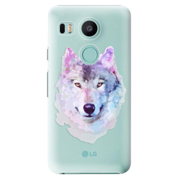 Plastové puzdro iSaprio - Wolf 01 - LG Nexus 5X
