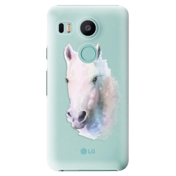 Plastové puzdro iSaprio - Horse 01 - LG Nexus 5X