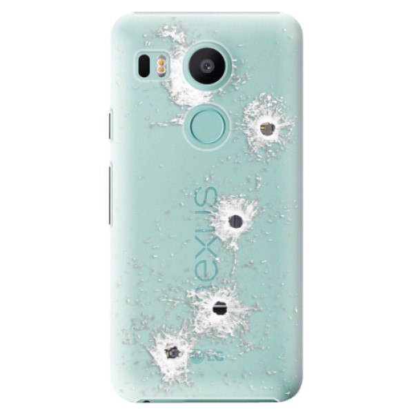 Plastové puzdro iSaprio - Gunshots - LG Nexus 5X