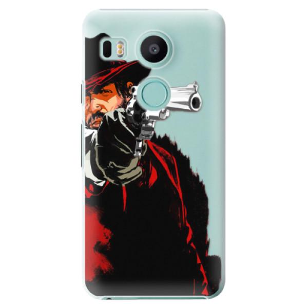 Plastové puzdro iSaprio - Red Sheriff - LG Nexus 5X