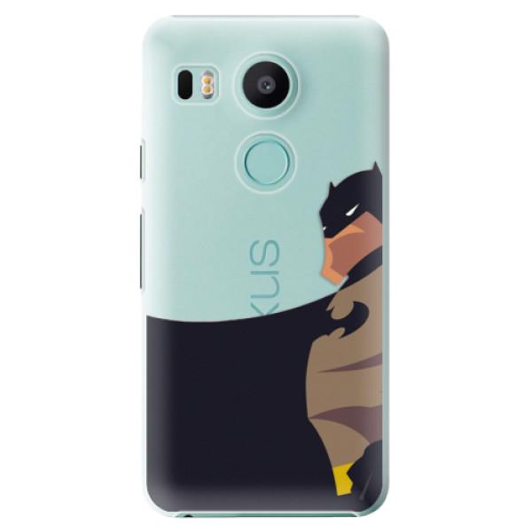 Plastové puzdro iSaprio - BaT Comics - LG Nexus 5X