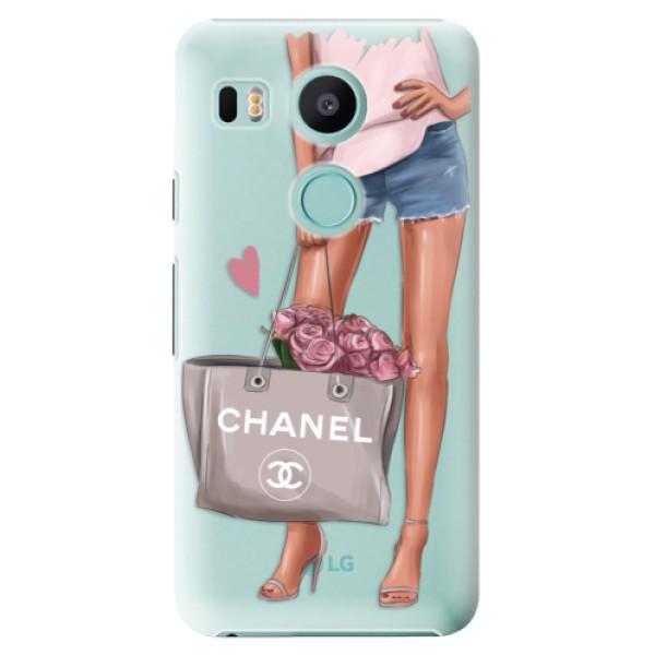 Plastové puzdro iSaprio - Fashion Bag - LG Nexus 5X