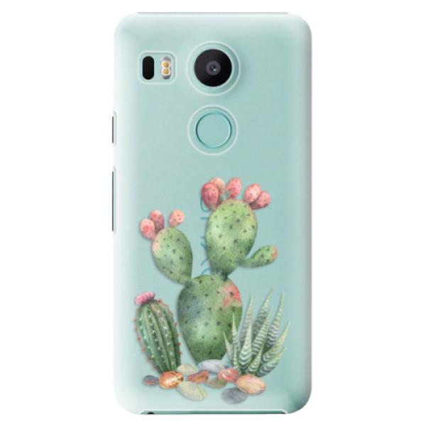 Plastové puzdro iSaprio - Cacti 01 - LG Nexus 5X