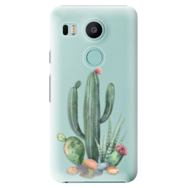 Plastové puzdro iSaprio - Cacti 02 - LG Nexus 5X