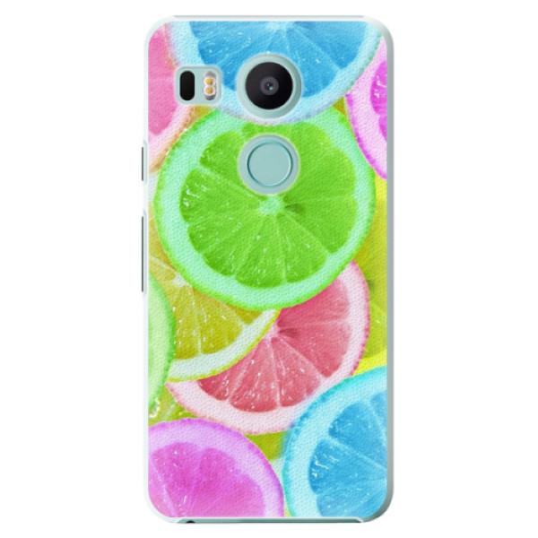 Plastové puzdro iSaprio - Lemon 02 - LG Nexus 5X