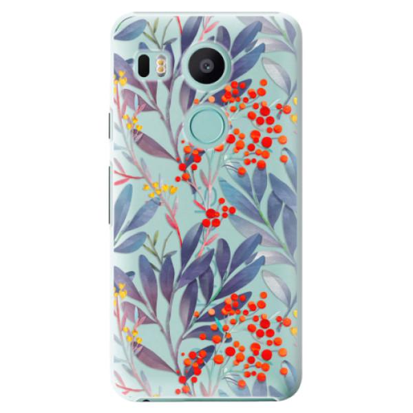 Plastové puzdro iSaprio - Rowanberry - LG Nexus 5X